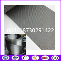 Buy cheap 152x30 mesh 157mm (or 160mm) width,10m/roll Belt Screen Filter Mesh from wholesalers