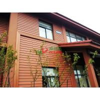 China Waterproof Outdoor WPC Exterior Wall Cladding No Pollution Little Maintenance wholesale