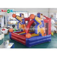 China PVC Tarpaulin Basketball Hoop Shoot Inflatable Game For Playing Center on sale