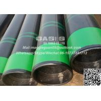 China 13 3/8 API 5CT Oil Casing Seamless Pipe Oil Well Tubing and Casing API Seamless Pipe on sale