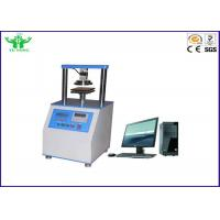 China Digital Ring Stiffness Corrugated Paper Tensile Strength Testing Equipment on sale