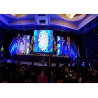 China P3 Hanging Led Display Indoor With Hang Bar , Clear Rental Led Screen Lightweight wholesale