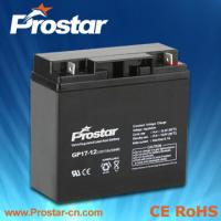 Quality Prostar AGM battery 12v 17ah for sale