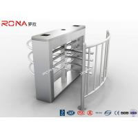 China Durable Half Height Turnstiles 30 Person / Min Transit Speed Access Control System wholesale