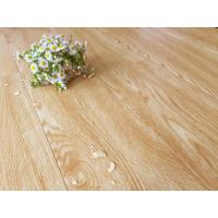 China Bamboo Fiber Wooden Style Floor Tiles Moisture Proof Light Yellow Wood Grain wholesale