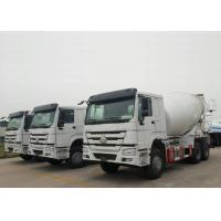 China HOWO-7 Self Loading Mixer Truck / Cement Bulk Truck With Howo HW76 Cabin wholesale