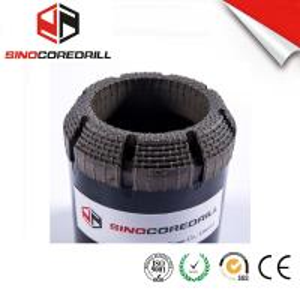 China Face Discharge Step Natural Diamond Core Bit HQ3 Surface Set Drill Bits wholesale