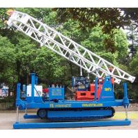 China Hydraulic Chuck Crawler Drilling Rig Hydraulic , Portable Drilling Machine wholesale