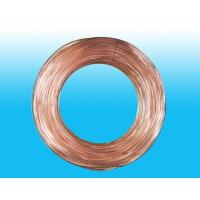 China Round 4mm X 0.5 mm Copper Coated Bundy Tube For Water Coolers wholesale