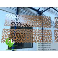 China Hexagonal Perforated Aluminum Sheet Screen , Aluminum Mesh Sheet wholesale