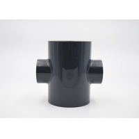 China 315mm Size UPVC Reducing Cross PE100 Fittings Corrosion Resistant wholesale