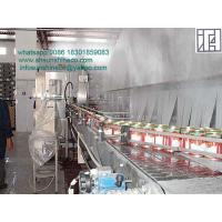 Buy cheap Spray continuous pasteurization cooling tunnel second pasteurization of various from wholesalers