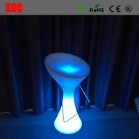 China 2016 Hot Sale Plastic Glowing Chair With Rechargeable RGB LED Lights wholesale
