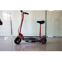 Quality Red 200W Electric Powered Scooter For Adults Street Legal with 24v 7Ah Lithium Battery for sale