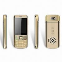 China Dual-SIM Phone with GSM 900/1,800MHz Frequency, Supports Multiple Languages wholesale