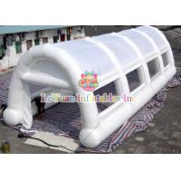 China White Arches Inflatable Air / Party / Camping Tent Flameproof Non - Toxic wholesale