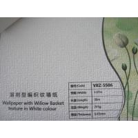 China PVC Wallpaper Solvent Inkjet Printing Media For Digital Printing wholesale