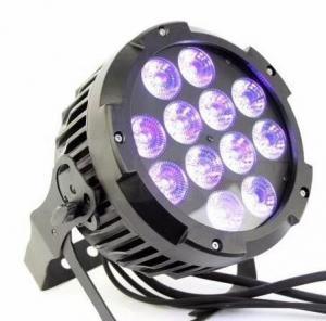 Buy cheap 12 pcs * 18 Watt 6 in 1 RGBWA UV Outdoor LED Wash / Waterproof LED Par Lights from wholesalers