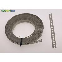 China Perforated  Banding Perforated Steel Straps Steel Band Perforated Strip wholesale