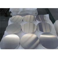 China 8011 Grade Round Aluminum Plate Deep Punching For Cosmetic Case wholesale