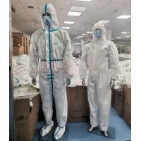 China Latex Free Disposable Protective Suit , Disposable Full Body Suit Skin Friendly wholesale