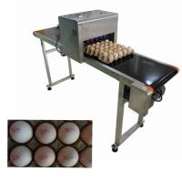 China 12V 4A High Performance Code Printing Machine With Food Grade Ink For Eggs wholesale
