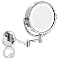 China Mirror Light Wall Mounted Bedside Lamp IP65 LED For Bathroom Genova Magnifying on sale