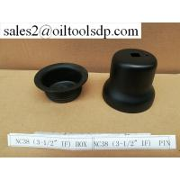 """Buy cheap API 5CT 3 1/2"""" IF/ NC38 steel Thread Protector from wholesalers"""