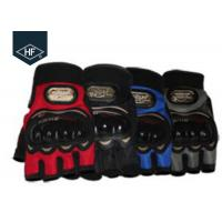 China Full Size Aftermarket Riding Accessories Half Finger Summer Motorcycle Gloves on sale