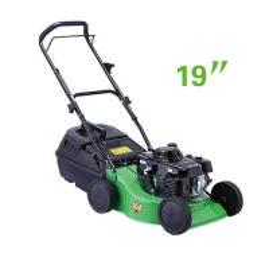 China Small size 19 Inch Hand push gasoline garden grass lawn mower  equipment wholesale