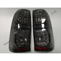 China ABS Aftermarket LED Smoked Rear Lamp Black Color For Hilux Vigo 2012 wholesale