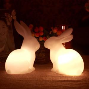 China animal night light/rabbit/gift/homemade christmas gifts/wedding/valentines day gifts/ wholesale