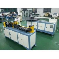China Flexible Straightening And Cutting Machine For Aluminum / Copper / Steel Tube wholesale