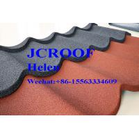 China Wave Colorful Stone Coated Roofing Sheet 1340*420*0.4mm Good Durability And Long Life wholesale
