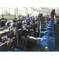 China Double Head Decoiler Top Hat Metal Roofing Roll Forming Machine Drive by Gear Box wholesale