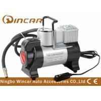 China 3 In 1 Metal Air Compressor With Flicker Light , 12v Tyre Inflator Air Pump wholesale