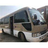 China 12m omnibus / luxury version coach bus with 49 seats/ white color coaster bus/used toyota mini bus on sale