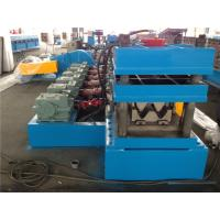 China 4.0MM Thickness Sheet Metal Forming Equipment , Highway Guard Rail Cold Roll Forming Equipment wholesale