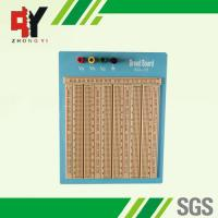 China Reusable Big Brown Solderless Breadboard 2420 Points With Blue Plate wholesale