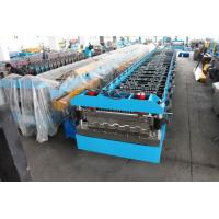 China Hydraulic Decoiler Floor Deck Roll Forming Machine 22KW 26 Stations wholesale