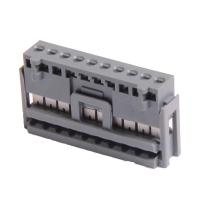 China 2.50 IDC Socket Wire To Board Connector 8P PBT Grey , Matte Sn wholesale