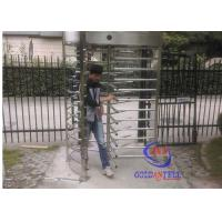 China Brushed Stainless Steel Full Height Gate Qr Code Scanner Pedestrian Channel Management wholesale