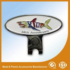 China OEM Personalised Metal Golf Ball Markers Custom For Women or Men wholesale