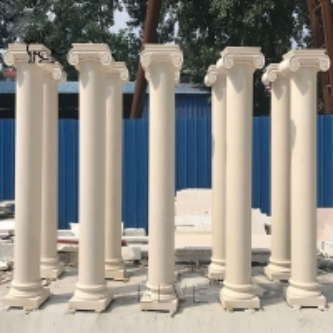 China Marble Roman Column Garden Natural Stone Outdoor House Building Decorative wholesale