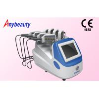 China 8 Treatment Heads Diode Lipo Laser Slimming Machine Color Touch Screen 1 - 30Hz wholesale