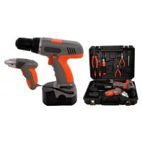"China 4.8V 1/4"" Li-ion 1.3Ah Cordless Screwdriver Sets Cordless Power Tools Kit for DIY wholesale"