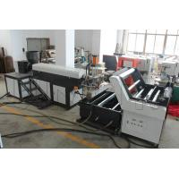 China Light Weight Plastic Strip Making Machine , PP / HDPE Rope Maker Machine wholesale