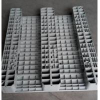 China Solid Face Pallets Flat Plastic Pallets 3 Runners wholesale