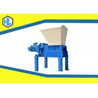 China 45 Kw Motor Power Solid Waste Shredder Machine For Wood Pallet / Cloth / Plastic Material wholesale