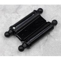 China Black Painting Double Action Spring Heavy Iron Hinge for Wooden Door wholesale